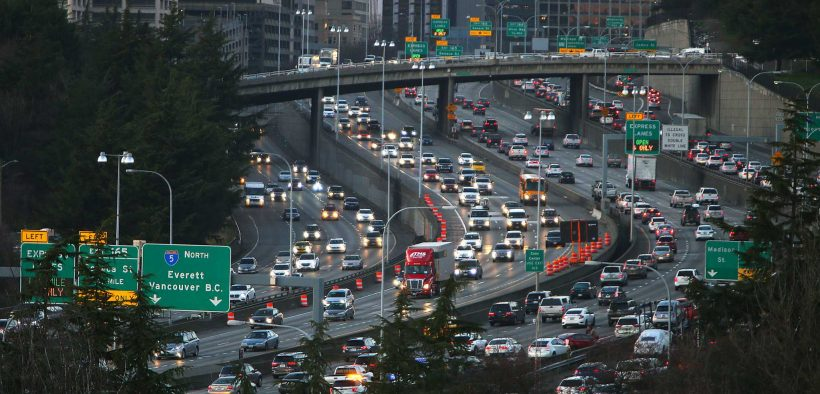 Seattle traffic congestion